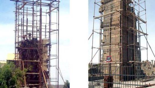 البدء بالمرحلة النهائية من ترميم وإعادة تأهيل برج الأجراس الأثري في قنوات