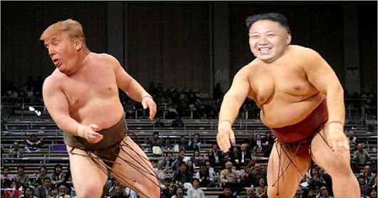 Donald Trump Challenges Kim Jong-Un In Open Sumo Wrestling Fight