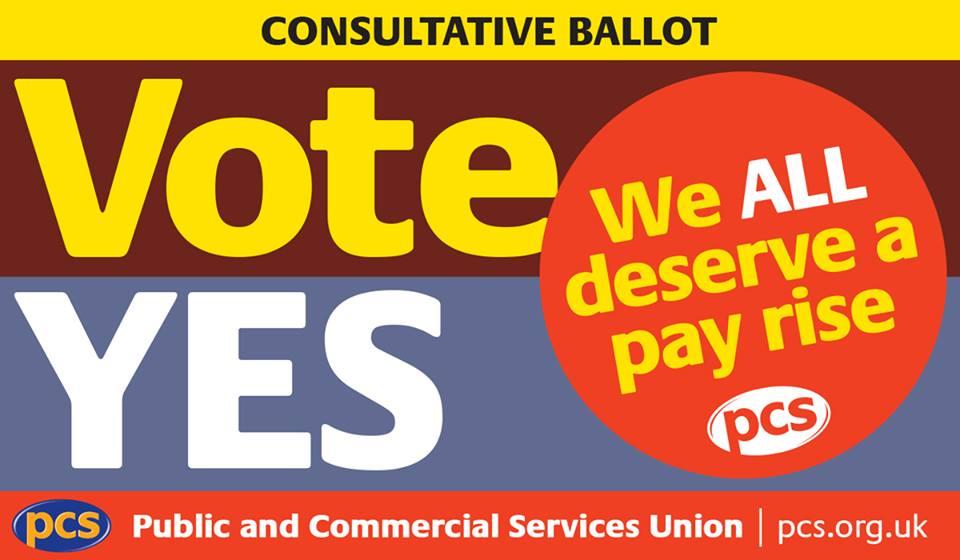 PCS pay campaign 2017