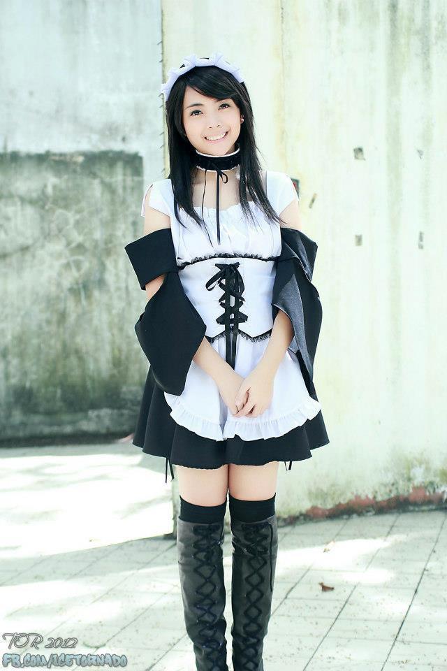maid sama cosplay alodia - photo #1
