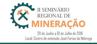 Mineração de Picuí será representada no II Seminário Regional na UFCG