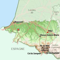 Macaye au Pays Basque près de Bayonne et de St Jean de Luz