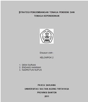 Contoh Cover Makalah Universitas Esa Unggul Contoh Ris