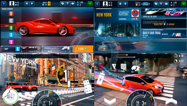 Game Asphalt Street Storm Drag Apk Data Terbaru Android