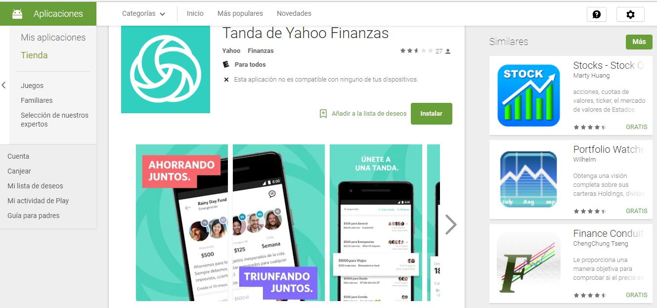 Descargar APK de Tanda by Yahoo Finance 1.0.4 Para Android