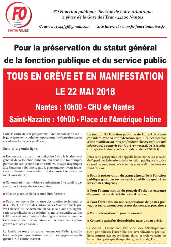 GRÈVE DANS LA FONCTION PUBLIQUE