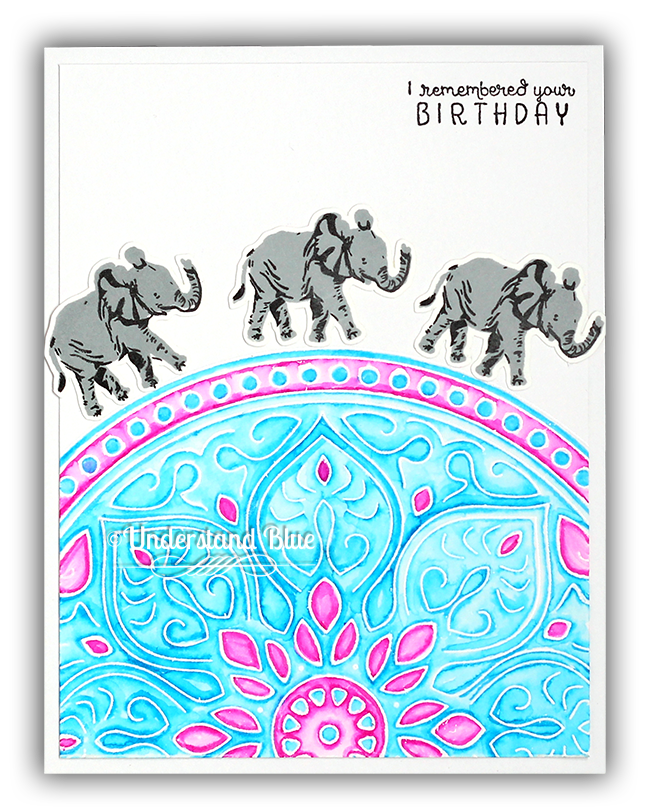 Color layering elephants by Understand Blue