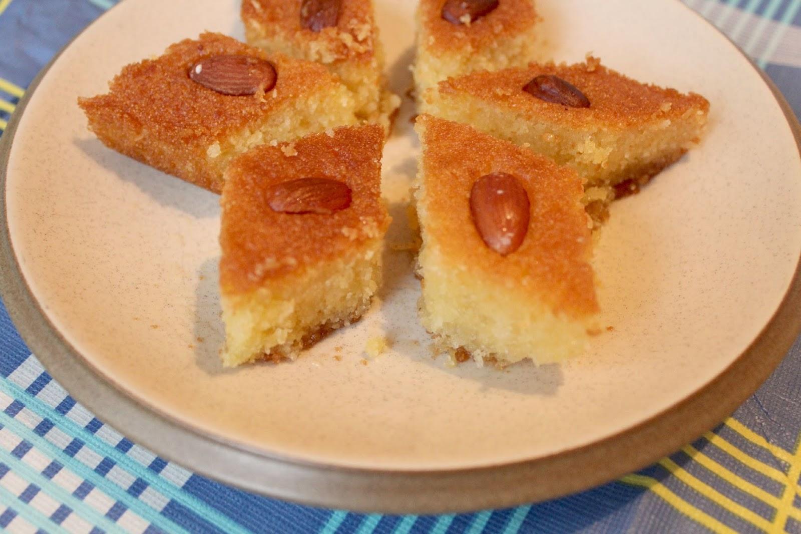 Basbousa Cake Recipe