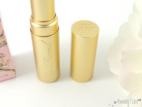 revue avis test too faced rouge a levres la creme