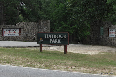 Entrance of Flat Rock Park, Columbus, Georgia
