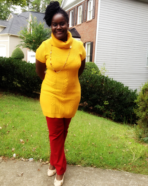 how to pair yellow with red