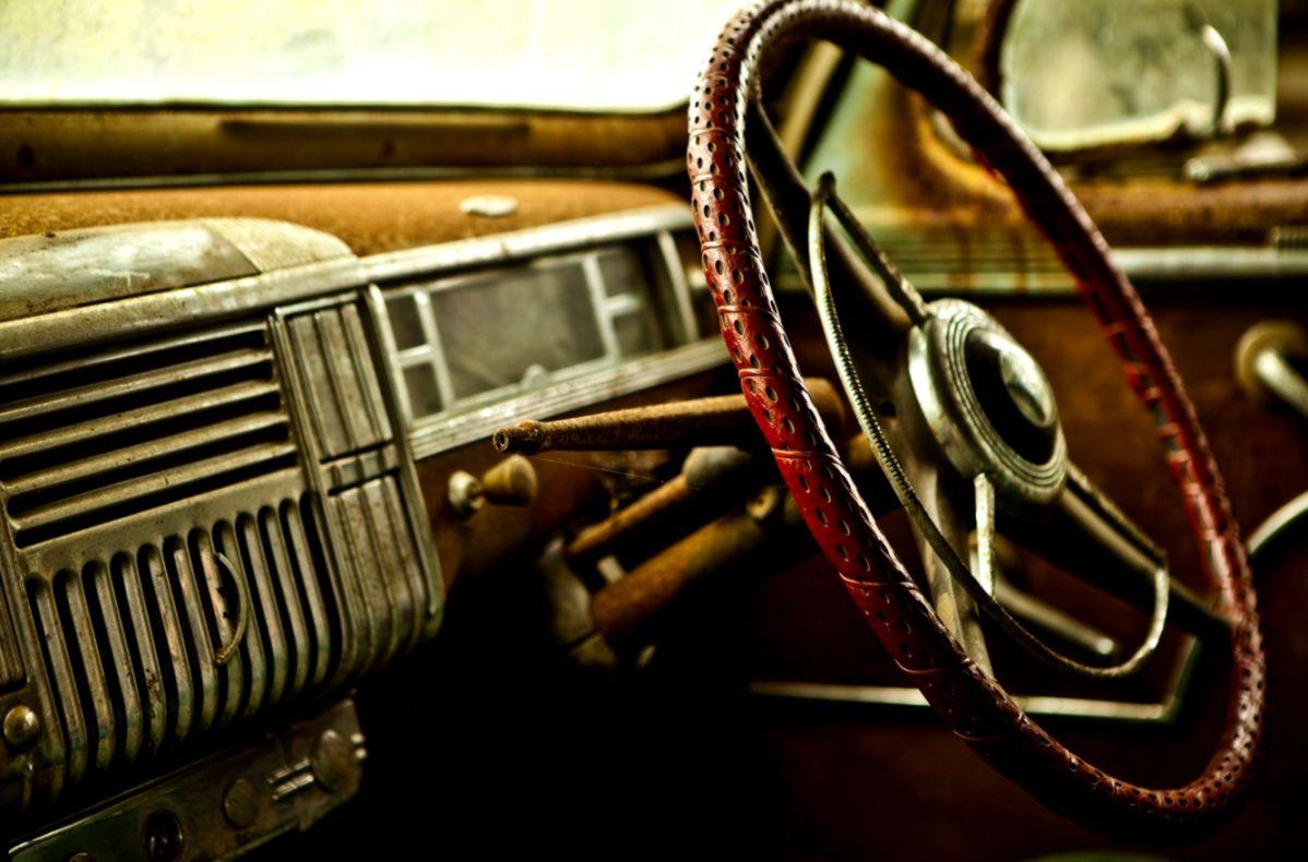 Car Interior Close Up Retro Hd Wallpaper Sizehd