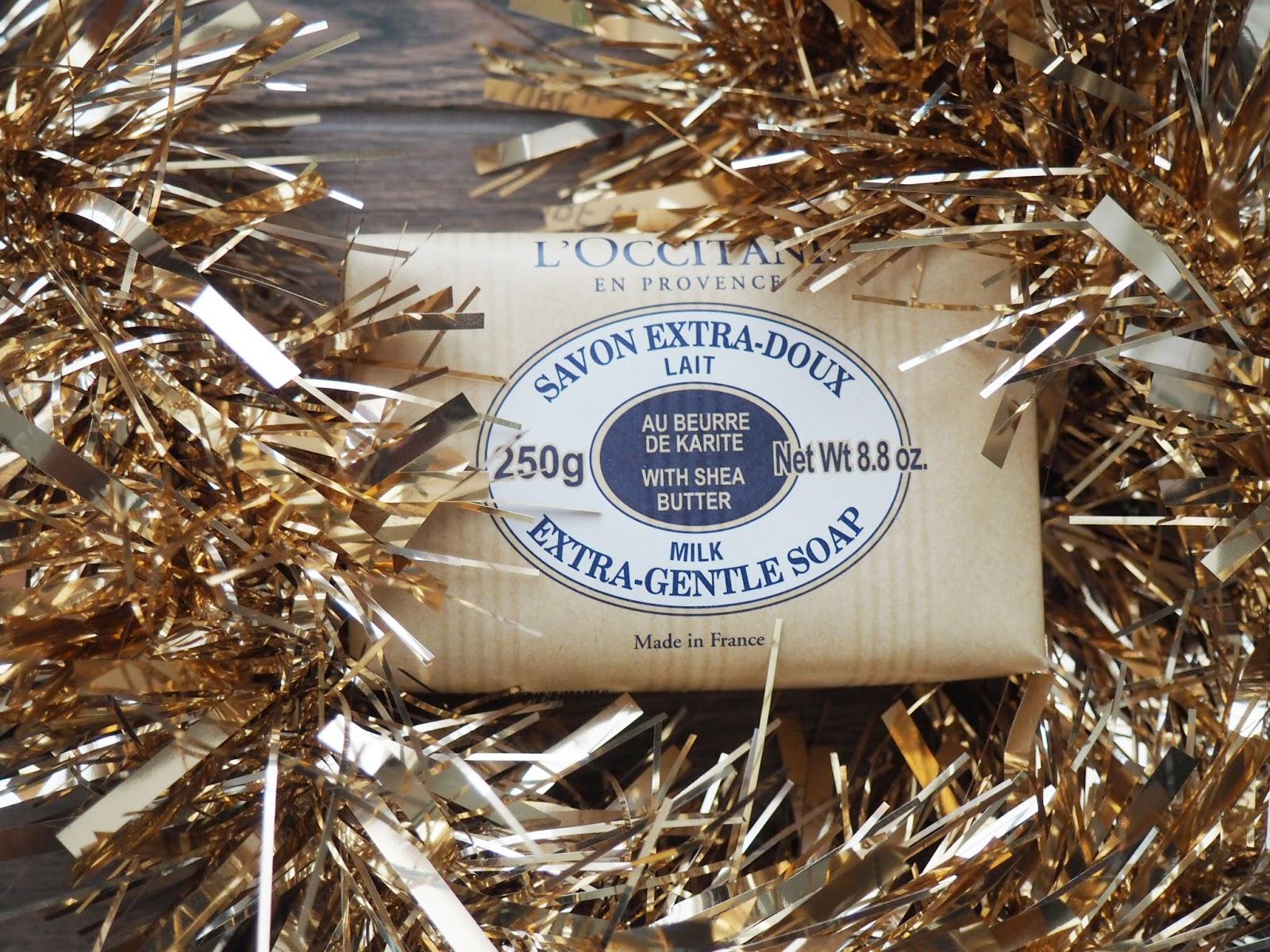 L'OCCITANE gentle milk soap