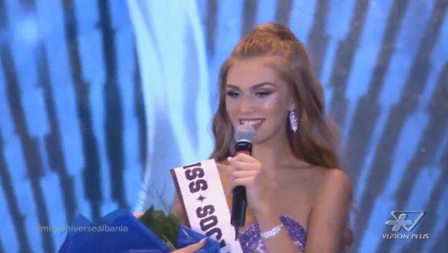 miss universe albania 2018 winner trejsi sejdini