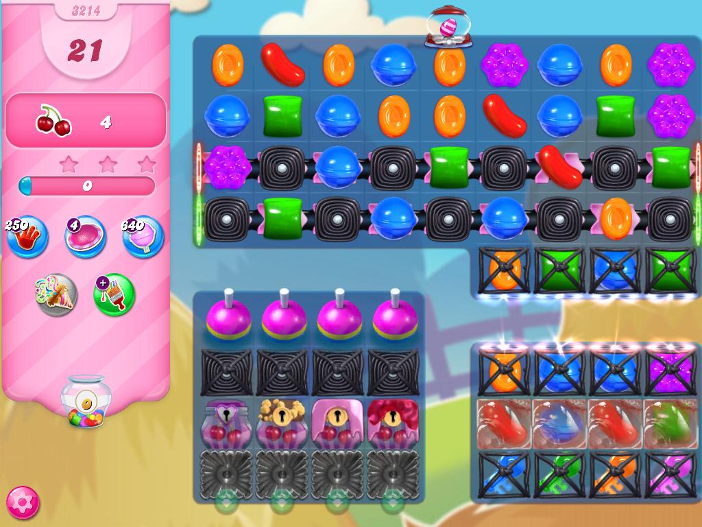 Candy Crush Saga level 3214