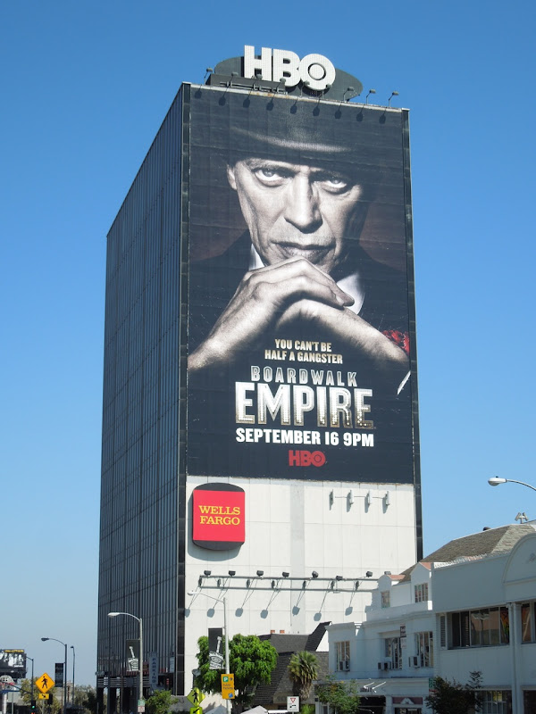 Giant Boardwalk Empire season 3 HBO billboard