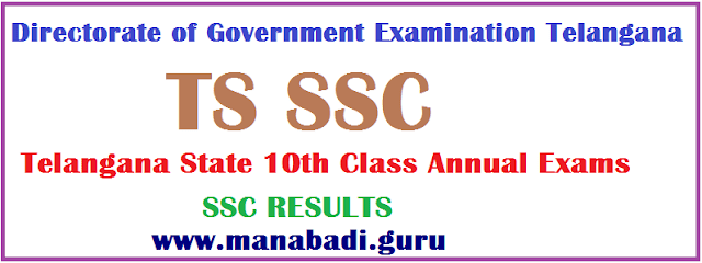 SSC Results.Telangana Results, Telangana State Board Secondary School Certificate, TS 10th Class, TS SSC, TG State