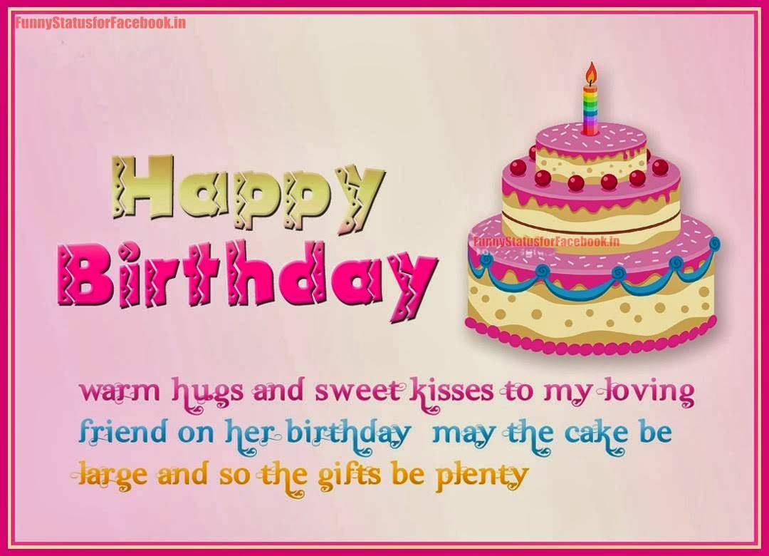 Best Status For Best Friend On His Birthday : Birthday wishes for best friend facebook status