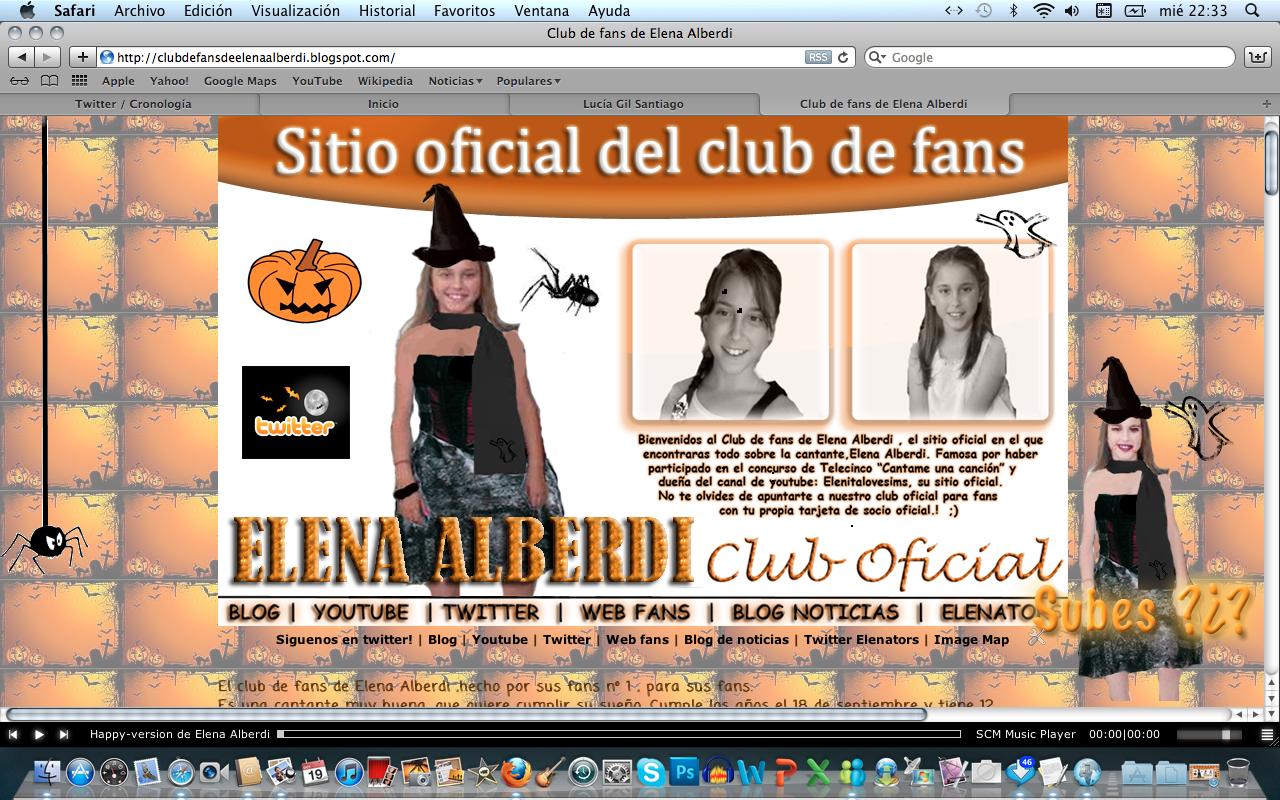 Club de fans de elena alberdi 1 10 11 - Elena alberdi ...