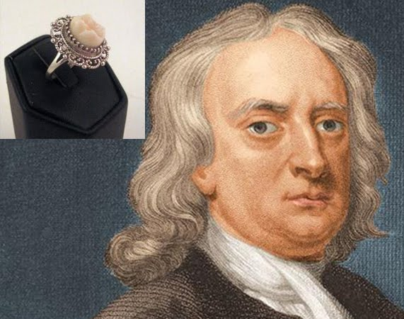 The most valuable tooth belonged to Sir Isaac Newton