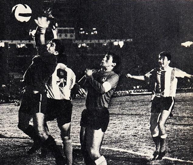 Argentina y Chile en Campeonato Sudamericano de 1967