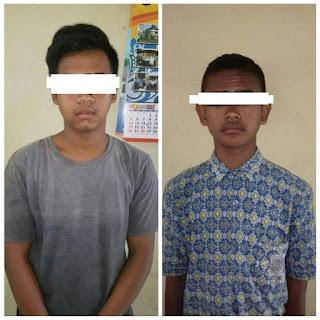 Dua Pelaku Pencabulan Anak diamankan Polisi