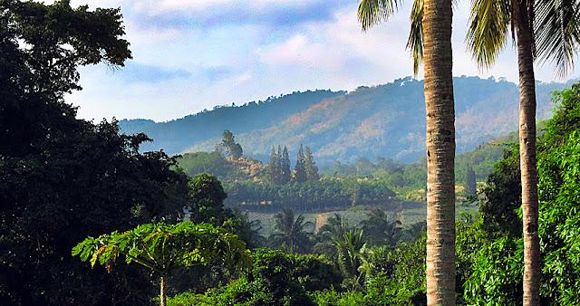 Thailand - Myanmar  border south Kanchanaburi