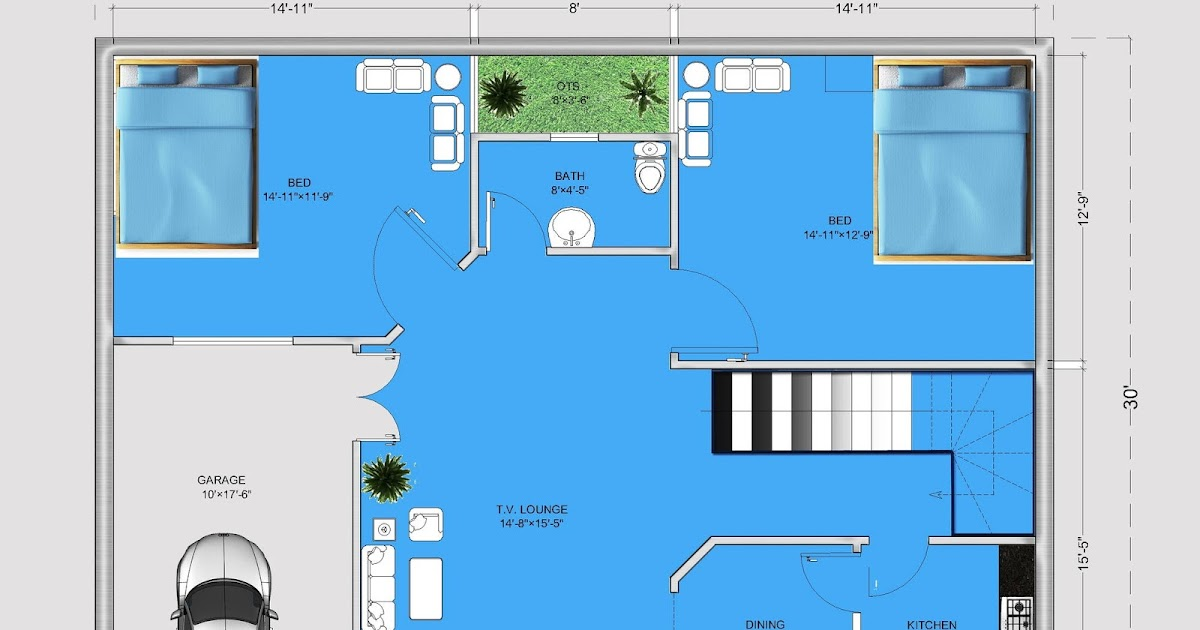 5 marla house plan 30x40 small house plan ideas 1200 for 1200 square foot office plans