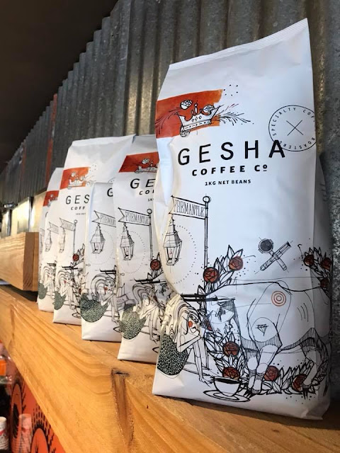 Now serving Gesha Coffee - Perth's most instagrammed coffee beans. Oh and it's delicious too!