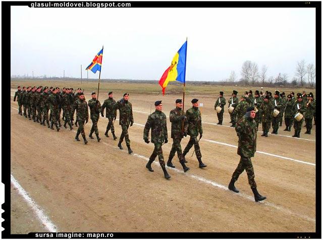 De ziua nationala a Romaniei la parada de pe 1 Decembrie vor participa si militari din Republica Moldova
