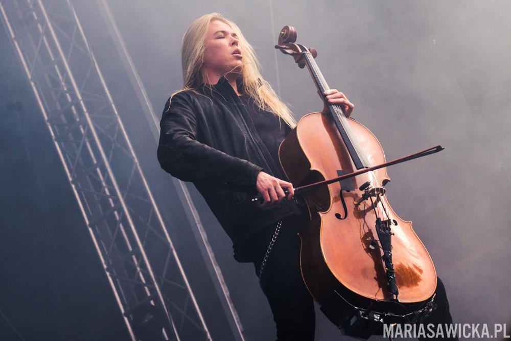 Eicca Toppinen Apocalyptica Provinssi Festivaali 2015 Seinäjoki