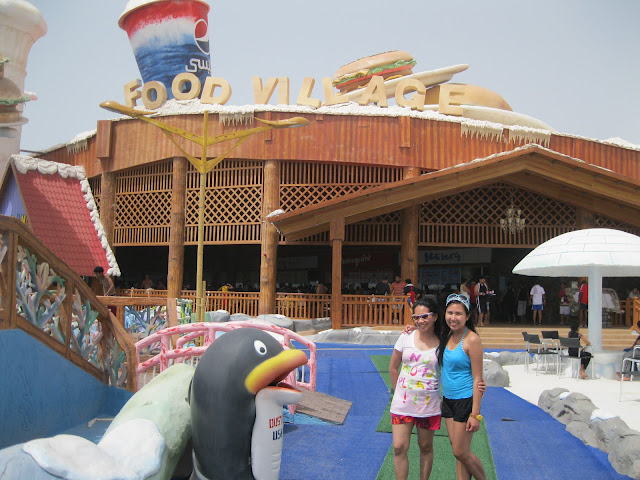 Food Village at Ice Land Water Park Ras Al Khaimah