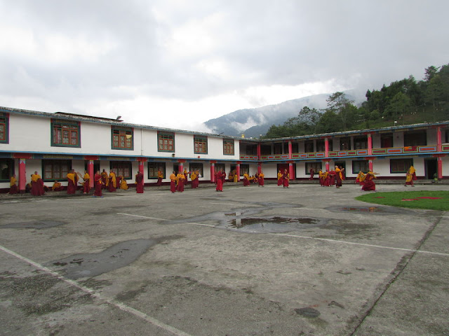 Interior of the Monastery at Ravangla Sikkim
