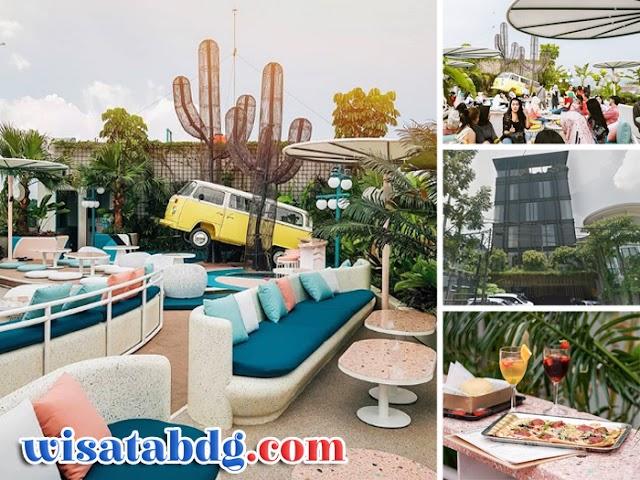 Picknick Kaliki, Cafe Rooftop Instagramable Lagi Ngehits di Bandung