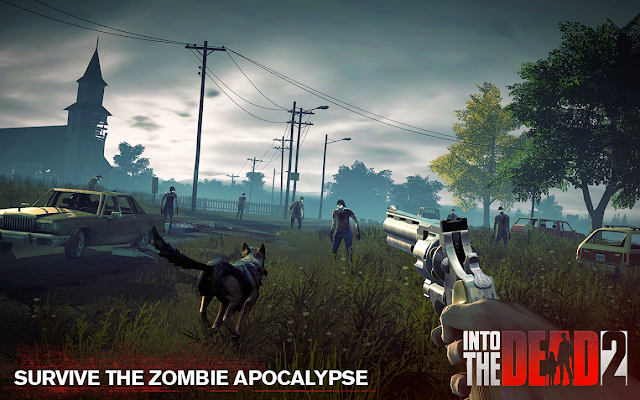Into the Dead v2 1.14.1 MOD Coins,Energy,Enemy,Ammonium,Grenades Apk Free Download