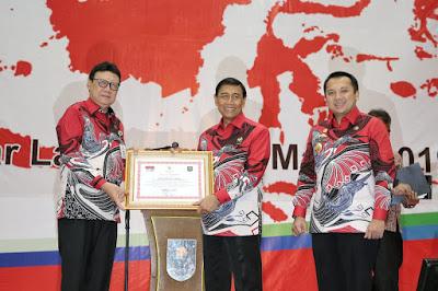 Gubernur Ridho Hadiri Kegiatan Peningkatan Kapasitas Aparatur Pemerintahan Desa Se-Lampung