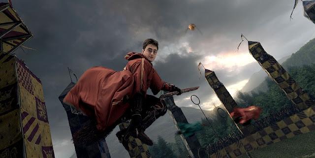 Quidditch ou Quadribol no Brasil, é um esporte criado pela autora J.K Rowling em sua série literária, Harry Potter, e tudo o Mundo da Magia. O Quadribol é o jogo mais popular entre os bruxos, apesar de não ser o único.