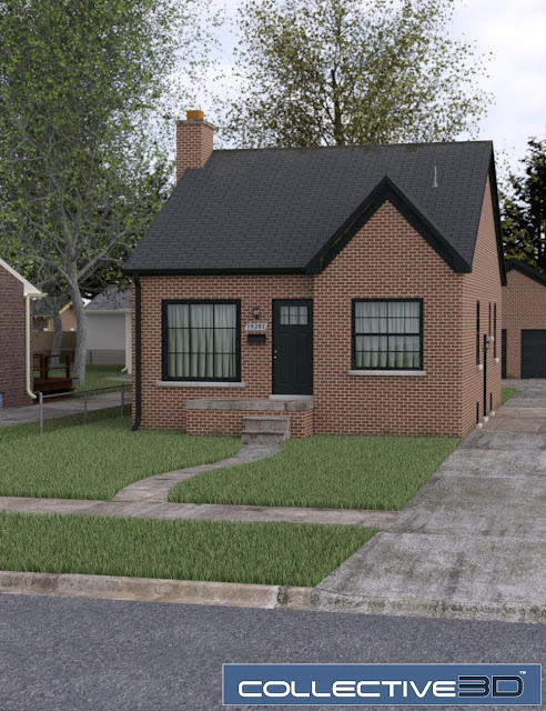Collective3d Neighborhood Bungalow 1