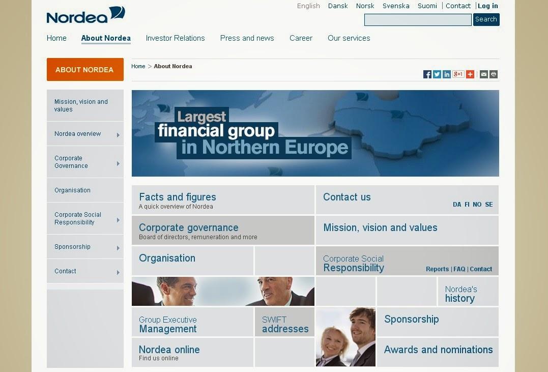 Nordbanken pa internet