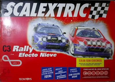 Circuitos: Scalextric C3 Rally Efecto Nieve 1000 Lagos Tecnitoys