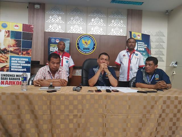BNNP Aceh : Narkotika Jenis Sabu yang Beredar di Indonesia Kualitas Oplosan