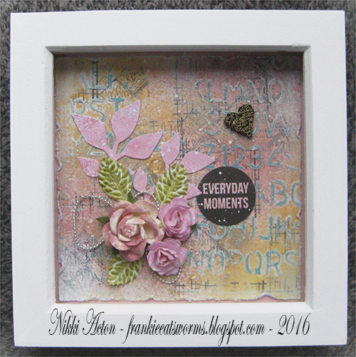 Mixed Media Shadow Box