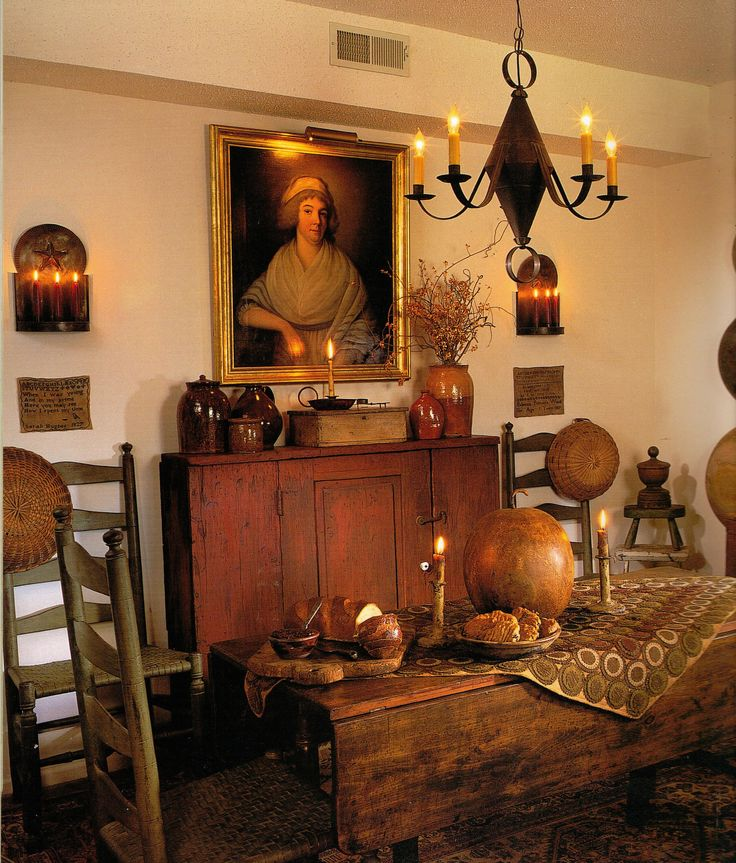 Colonial Home Decorating Ideas: DWELLINGS-The Heart Of Your Home
