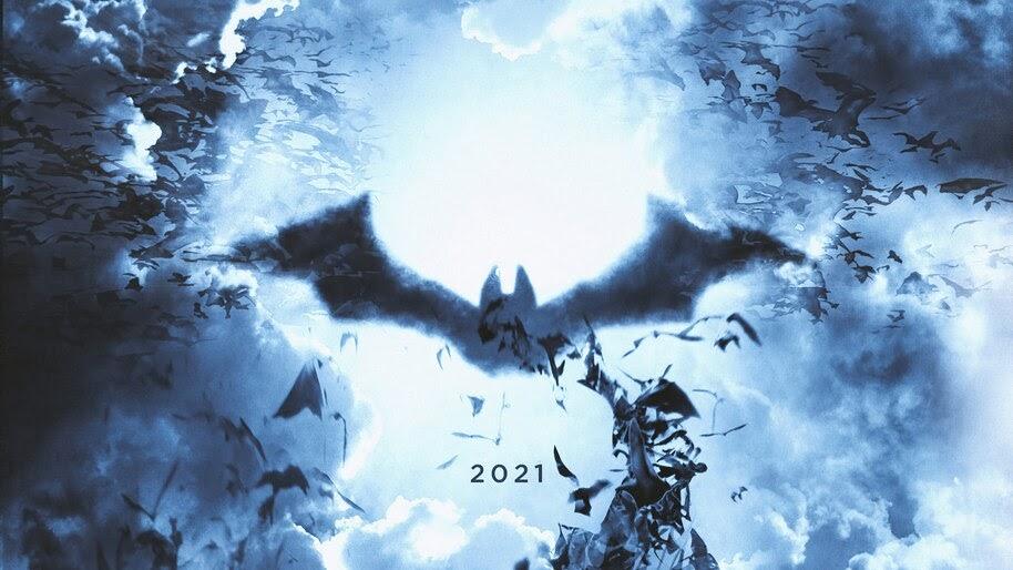 The Batman, Logo, 2021, 4K, #3.2620