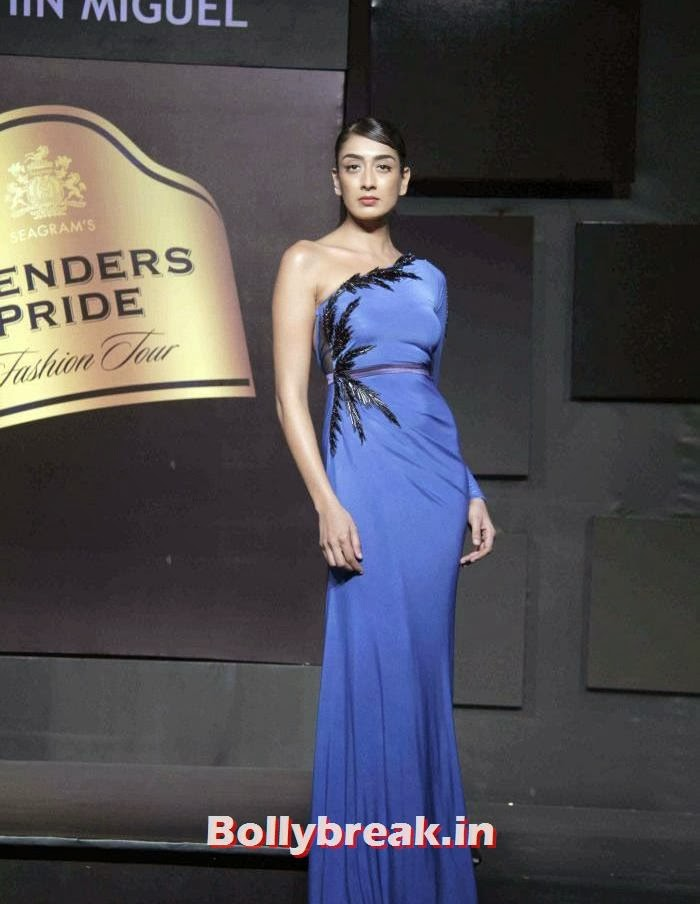 Binal Trivedi, Gavin Miguel Show at Blenders Pride Fashion Tour 2013