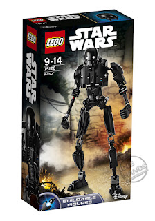 LEGO Star Wars Rogue One Buildable Figure K-2SO
