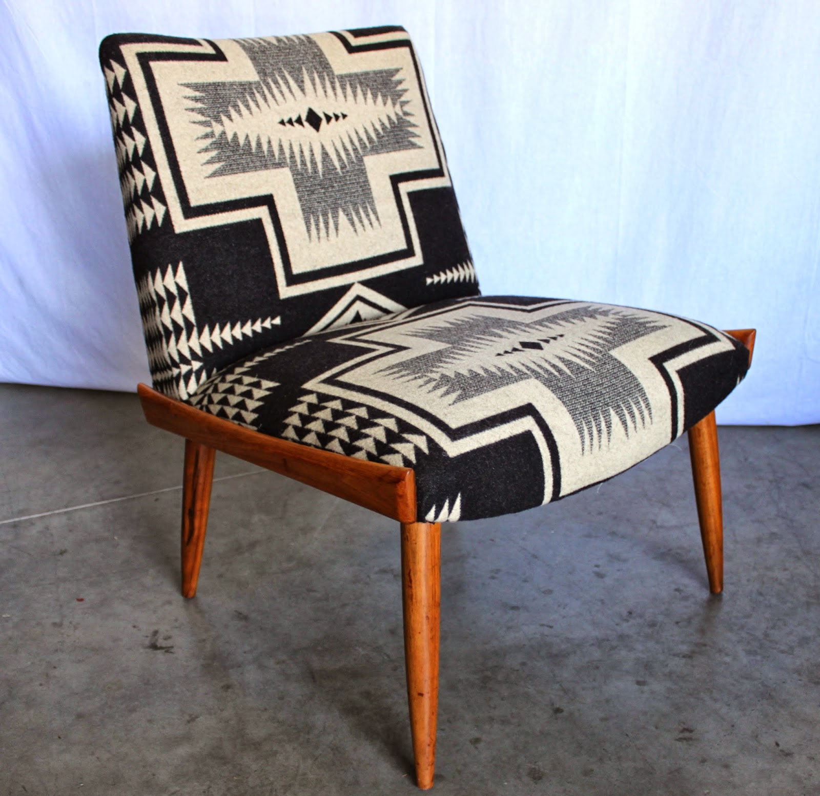 Aztec Chair Modernhaus Shop Update Mid Century Pendleton Chair Pair
