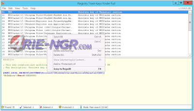 Registry Trash Keys Finder 3.9.4.0 Final Full Terbaru