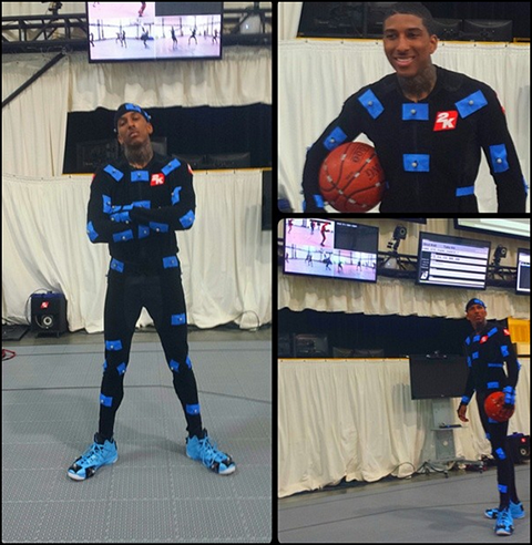 NBA 2K15 Dunk Animations MoCap Video