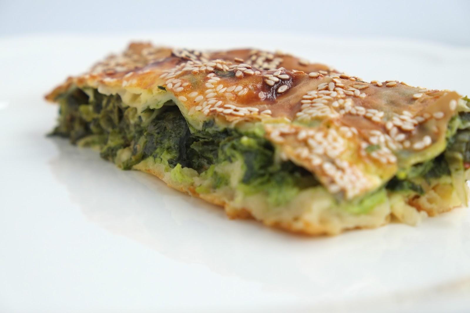 Spinazie  Börek - Turkse specialiteit.